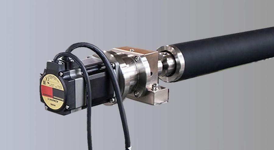 ゴムバリボウEXP タッチパネル式電動タイプ(無線)全体